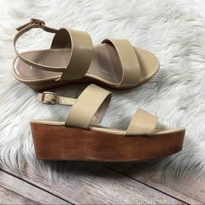 J Jill Sandals Leather Size 8.5